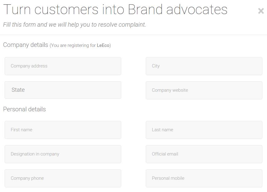 resolve online consumer complaints