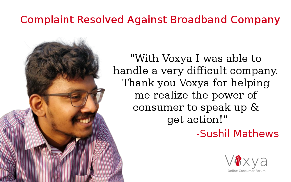 Consumer Complaint Against Voxya Resolved At Voxya