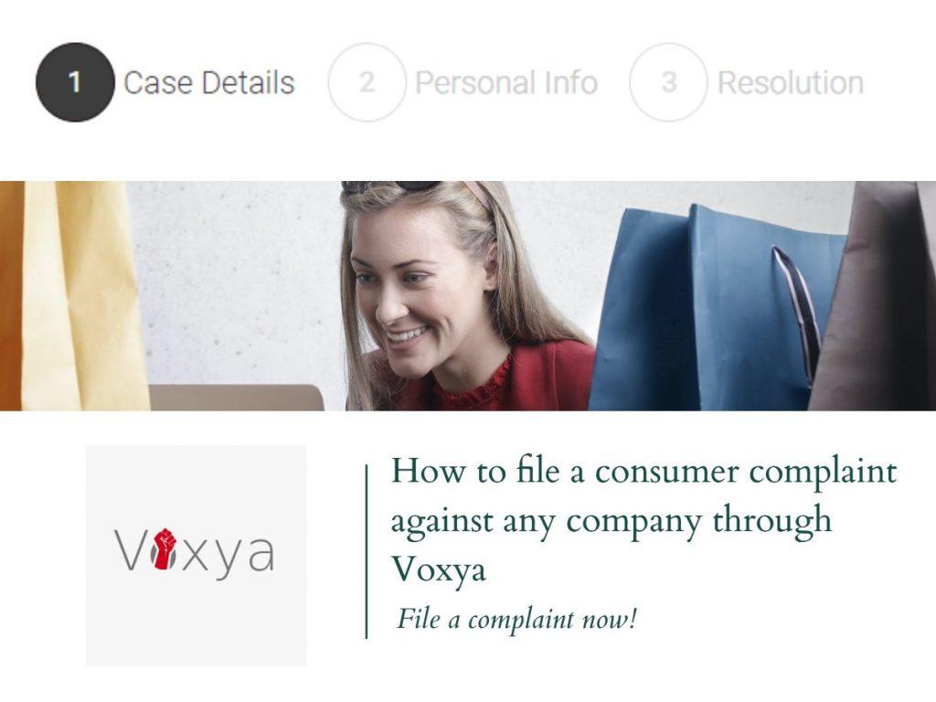 file a consumer complaint