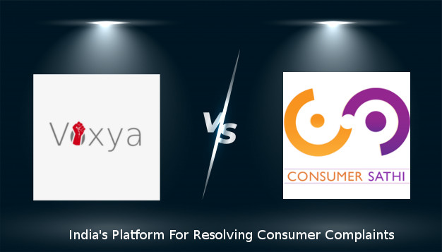 consumer complaint forum voxya and consumer sathi
