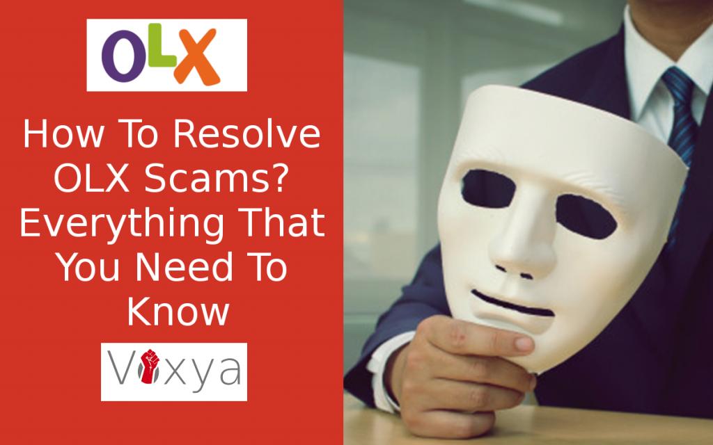 olx complaint resolved at voxya