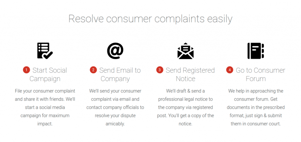 resolves consumer complaints